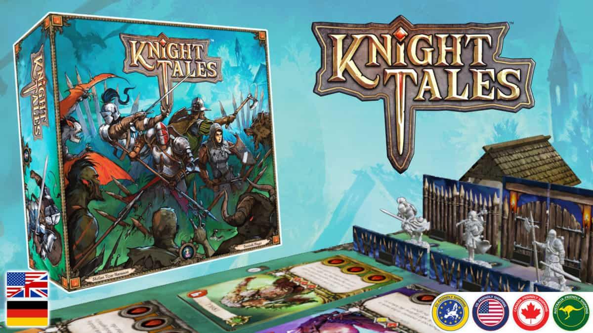 Die Knight Tales Kickstarter-Kampagne.