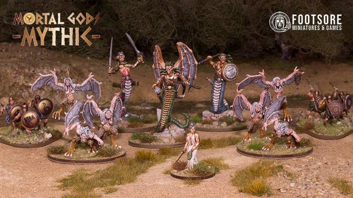 Abbildung einer Streitmacht der Hera aus der Mortal Gods: Mythic Kampagne.