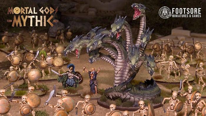 Hades Streitmacht aus der Mortal Gods Mythic Kickstarter-Kampagne.