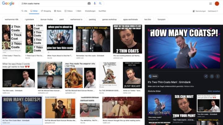 Duncan Rhodes Memes in der Google-Suche
