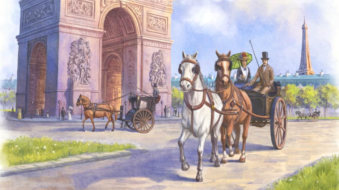 Cover des Paris Brettspiel auf Kickstarter