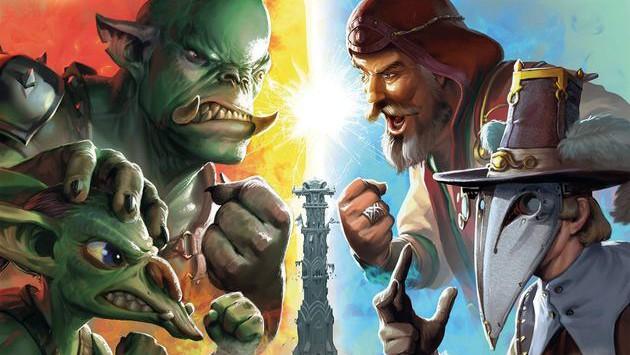 Orcs Orcs Orcs - Ein Tower Defense und Deck Building Brettspiel.