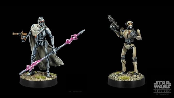 Star Wars Legion: Magna Wächter und Supertaktikdroide