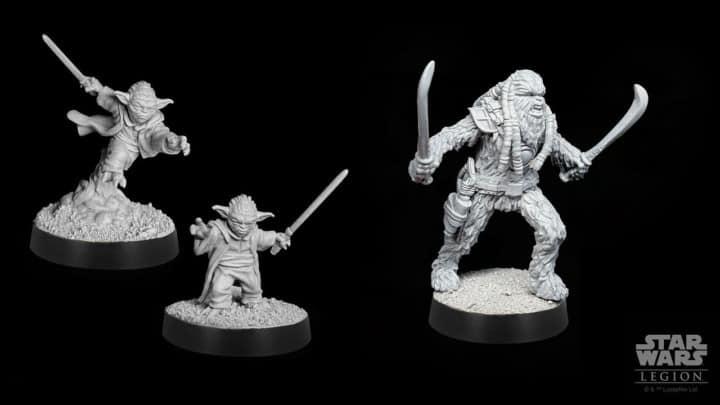 Star Wars Legion: Yoda und neue Wookie Krieger