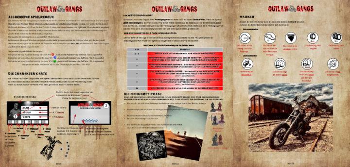 Ausschnitte aus dem Outlaw Gang Regelbuch