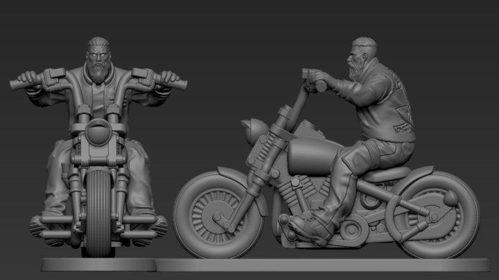 Stretch Goal der Outlaw Gangs Kickstarter-Kampagne.