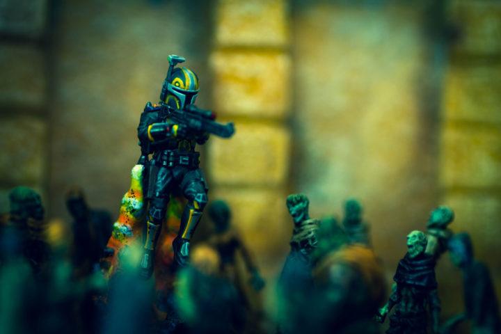 Hier haben wir Star Wars Legion Figuren fotografiert.