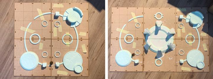 So funktioniert eine modulare Spielplatte